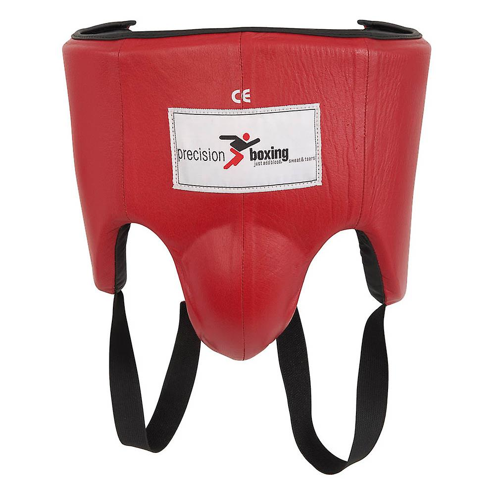 Precision Boxing MMA Sparring Abdominal Guard Protection Red
