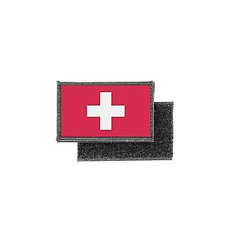 Patch ecusson prints Swiss flag badge
