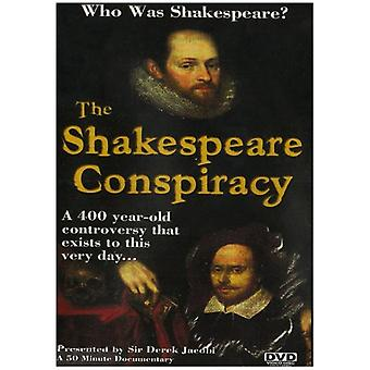 The Shakespeare Consipracy [DVD] USA import