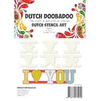 Dutch Doobadoo Stencil Art - Shapes #470.990.060