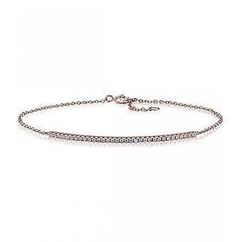 Sif Jakobs Bracelet Fucino Silver Collection SJ-B0064-CZ-RG