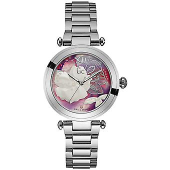 Gc watches ladychic Swiss Quartz Analog Woman Watch with Stainless Steel Bracelet Y21004L3