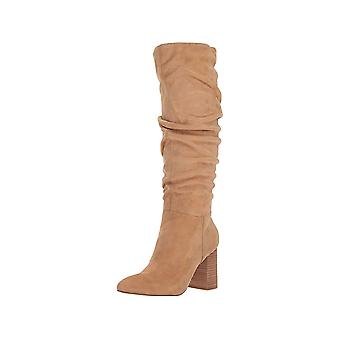 Carlos by Carlos Santana Womens Khandi Pointed Toe Knee High Fashion Boots