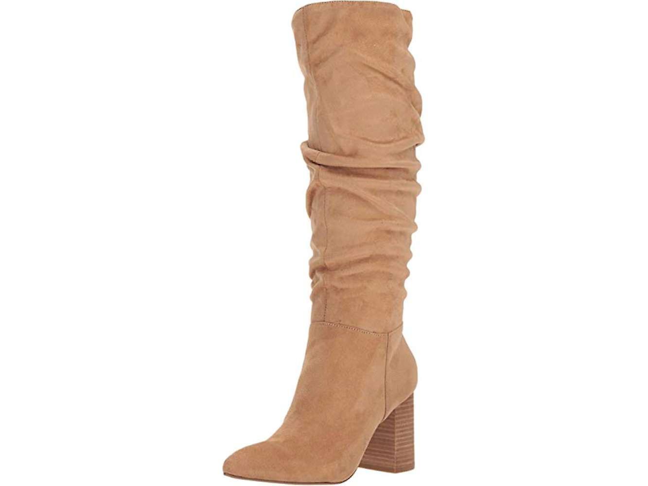 Carlos by Carlos Santana Womens Khandi Pointed Toe Knee High Fashion Boots L84Ud