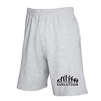 Pantaloncini tuta grigio evo0035 geek evolution theory