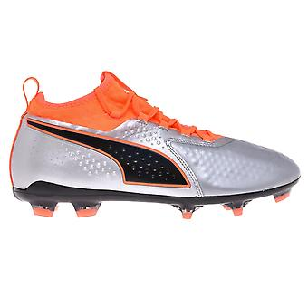 Puma Mens One 2 Leather FG Firm Ground Football Boots Trainers Shoes Footwear