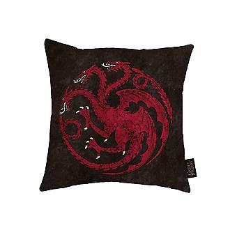 Game of Thrones canvas kudde med Targaryen design