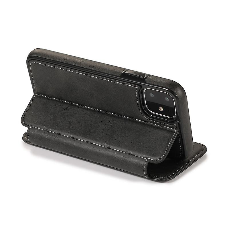 CaseGate phone case for Apple iPhone 11 case cover - magnetic clasp, stand function and card compartment