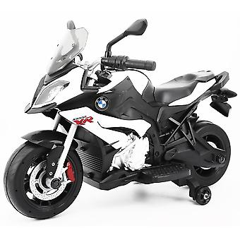 Licenced BMW S1000XR 12V Kids Electric Ride On Motorbike White