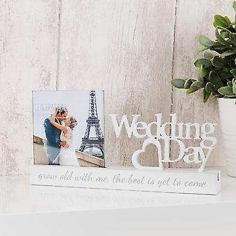 Widdop Bingham Celebrations Photo Frame 4x4 -wedding Day