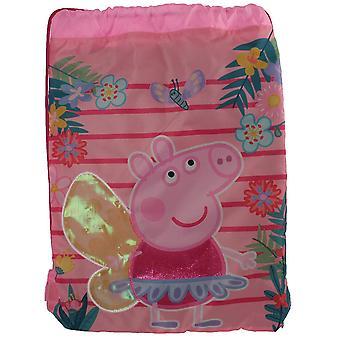 Peppa Pig Kinder/Kinder Trainer Drawstring Tasche