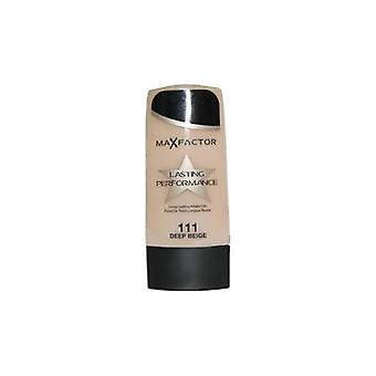 Max Factor Lasting Performance Foundation - Deep Beige 111