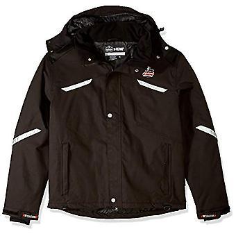 Ergodyne N-Ferno 6466 Men's Winter Thermal Work Jacket, Black,, Black, Size XL