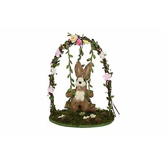 Gisela Graham Bunny on a swing scene