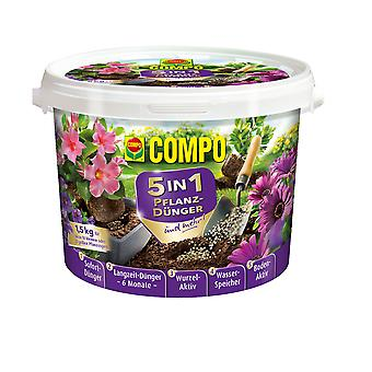 COMPO 5in1 Plant fertilizer and more, 1.5 kg
