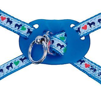 Gloria Pets Petral Perro Azul 28-41cm 10mm