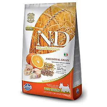 Farmina N&D Low Ancestral Grain Adult Mini Fish and Orange (Dogs , Dog Food , Dry Food)