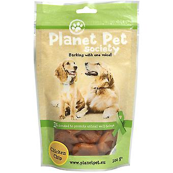 Planet Pet Snack Chip de Pollo (Dogs , Treats , Chewy and Softer Treats)