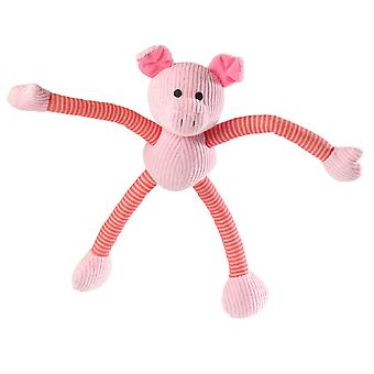 House Of Paws Piggy Long Legs Dog Toy