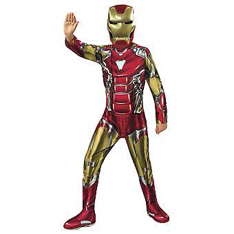 Iron Man Classic Kostajat Endgame Marvel Superhero Lisensoitu Child Boys Puku