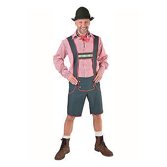 Hombres trajes Tiroler broek Stefan