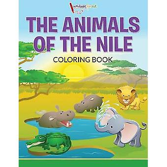 The Animals of the Nile Coloring Book von for Kids & Activibooks