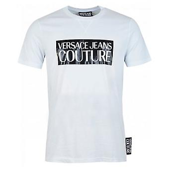 Versace Jeans Couture Reg Fit Couture Block Logo T-Shirt
