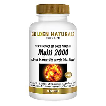 Golden Naturals Multi 2000 (60 tablets)