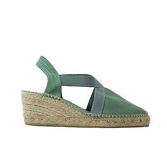 Toni Pons Ter Mint Linen Womens Slip On Espadrille Shoes
