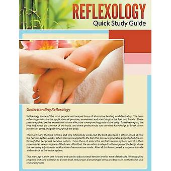 Reflexology Quick Study Guide by MDK Publications