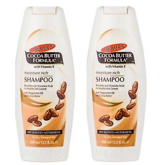 Palmers Cocoa Butter Shampoo 400 ml (Pack of 2)