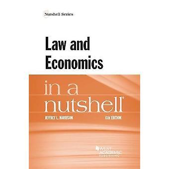 Law and Economics in a Nutshell by Jeffrey Harrison - 9781634603102 B