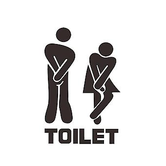 Wall décor | toilet plate | Squinty Women & Men