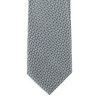 Michelsons London skizzieren geometrische Polyester Krawatte - grau