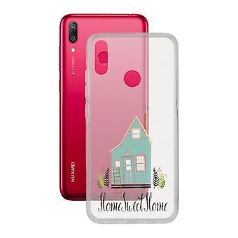 Mobile cover Huawei Y7 2019 Contact Flex Home TPU