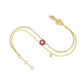 Bracelet Duchess Couture Full Ruby Stone and 18K Gold - Yellow Gold, Yellow