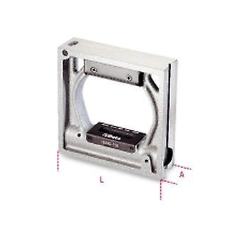 Beta 016990020 1699 Q/200 200 mm Precision Square niveauer Die-cast jern/w 2 hætteglas
