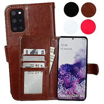 Samsung Galaxy S20 Plus - Ledertasche / Schutz