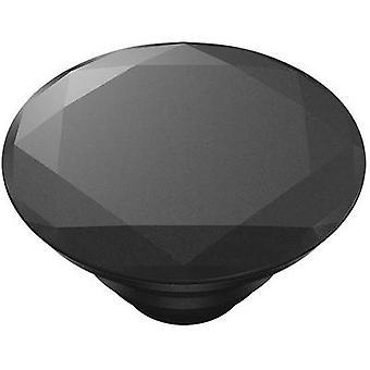 POPSOCKETS Metallic Diamond Black Mobile phone stand Black