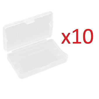 10x Game Card Case Halter Clear Box Nintendo GBA Game Boy Advance SP