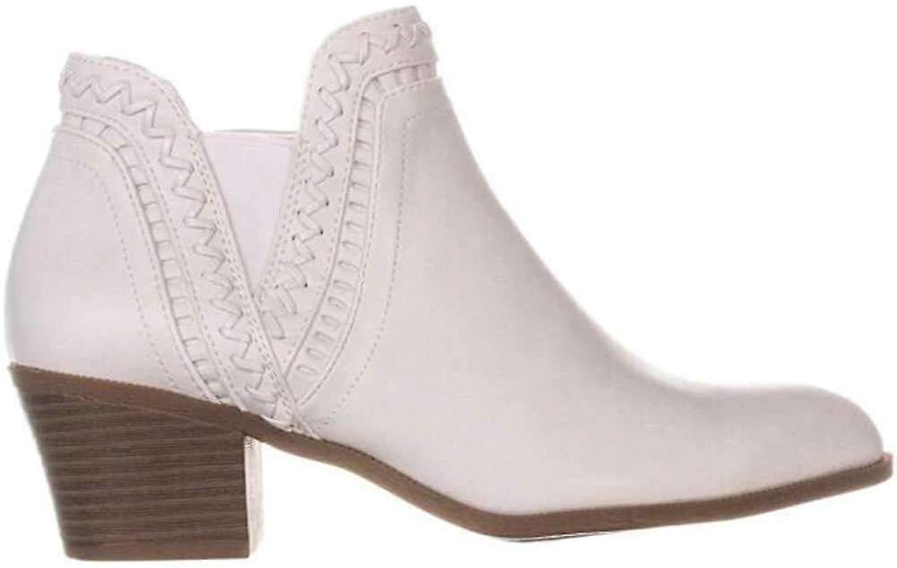 Style & Co. Womens Meridaa Ankle Booties Snow 8.5 M US