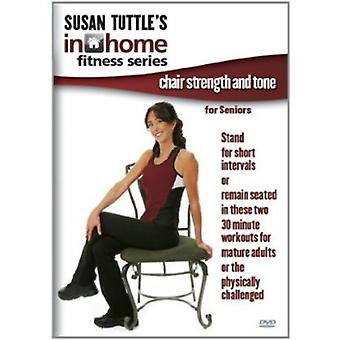 Susan Tuttle's in Home Fitness: Chair Strength & T [DVD] USA import