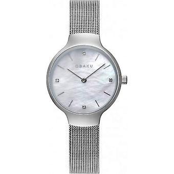OBAKU - Wristwatch - Women - VIKKE-STEEL - V241LXCWMC