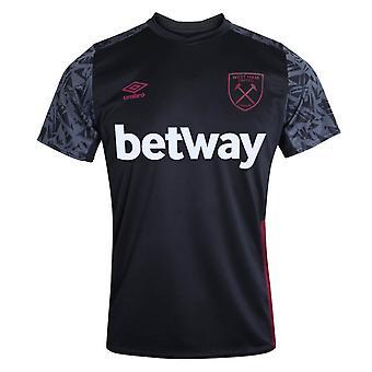 Camisa de treinamento do West Ham 2020-2021 (Preta)