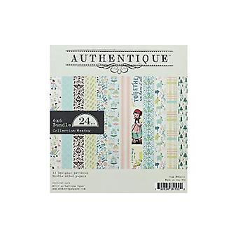 Authentique Meadow 6x6 Inch Paper Pad