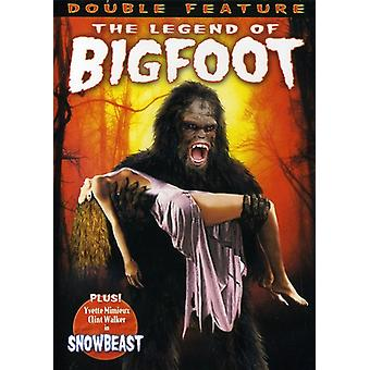 Legend of Bigfoot (1976)/Snowbeast (1977) [DVD] USA import