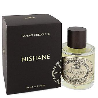 Safran colognise eau de parfum spray (unisex) door nishane 551107 100 ml