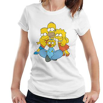 The Simpsons All Eyes On You Women's T-Shirt