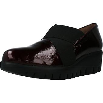 Wonders Comfort Shoes C33132 Color Wine