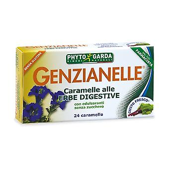 Gentian candies with digestive herbs 24 tablets